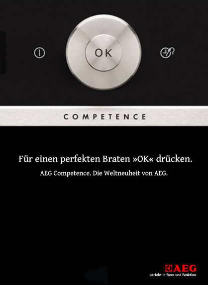 AEG Anzeige Competence