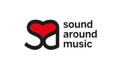 Logo sound around music