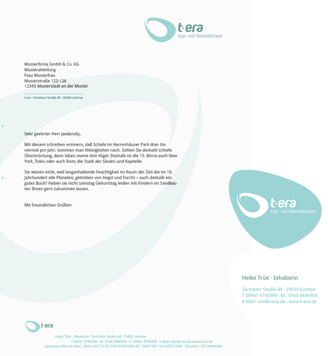 Briefbogen t-era
