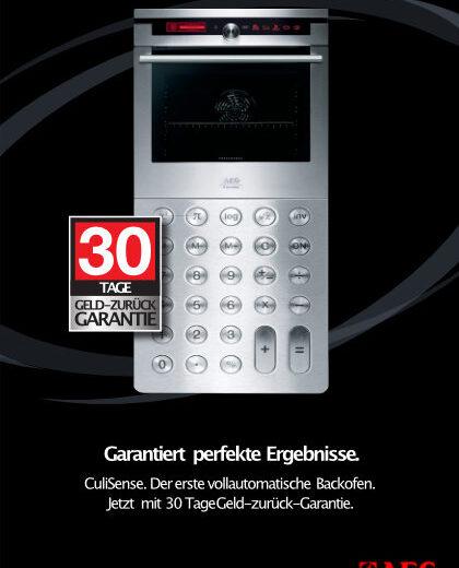 AEG Culisense Endverbraucher-Broschüre