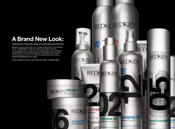 Redken Styling Lookbook New Look