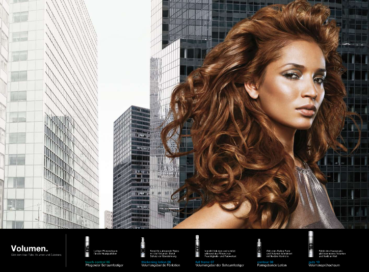 Redken Styling Lookbook Curled